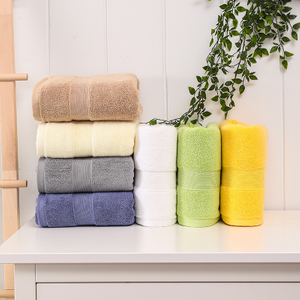 Manufacturer Hot Sale 100% Cotton Wholesale Customized Promotional Sample Microfiber Beach Bath Towels