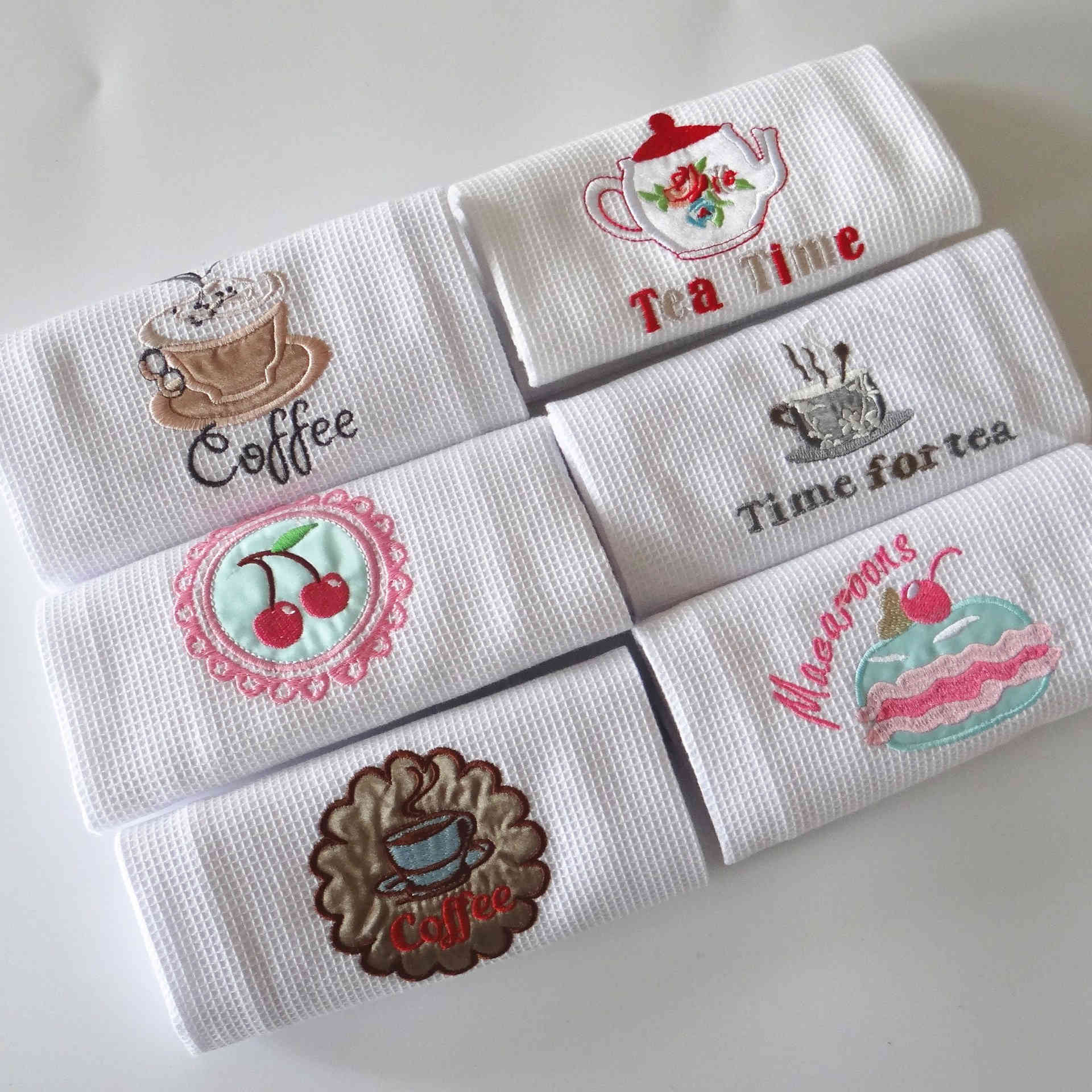 Plain Cloth Kitchen Towel 100% Cotton Yarn Dyed or Custom Pattern Printed Embroidery Available