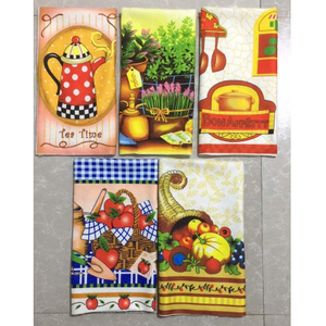 Microfiber Kitchen Towel Promotion Towel Customize Design